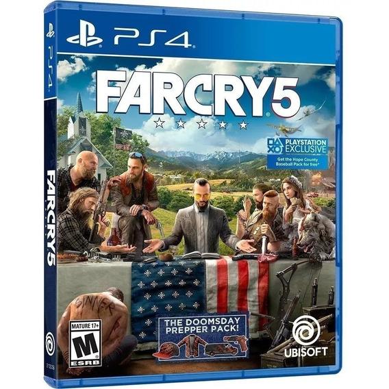 Far Cry 5 Ps4 Juego Nuevo Físico Sellado Subtitulado Espa?ol