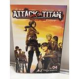 Manga, Kodansha, Attack On Titan Vol 4. Ovni Press