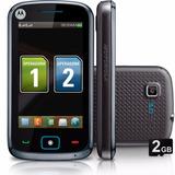 Celular Motorola Screen Ex128 Dual Chip C/ Câmera 3mp, Mp3