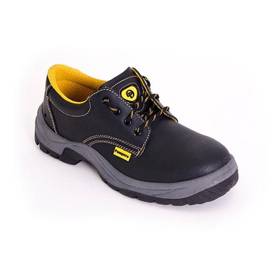Zapato De Seguridad Pampero Con Puntera De Acero Homologada