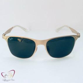 Oculos De Sol Dourado Masculino - Óculos, Usado no Mercado Livre Brasil 8648a91923