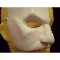 Fantasma De La Ópera Mascara Latex Halloween Terror