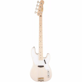 Contrabaixo Squier By Fender Classic Vibe P.bass 50s White B
