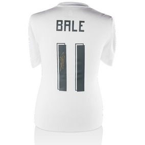 Gareth Bale Playera Firmada Real Madrid Temporada 2015/2016