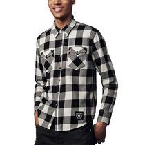Camisa Levis Oakland Raiders Cuadros Nfl Colección Western