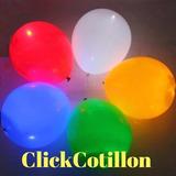 12 Globos Led Cotillon Luminoso Cumpleaños Fiestas Eventos