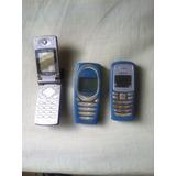 Celulares Nokia(2) Y Lg(1) Para Repuesto, No Se Si Funcionan