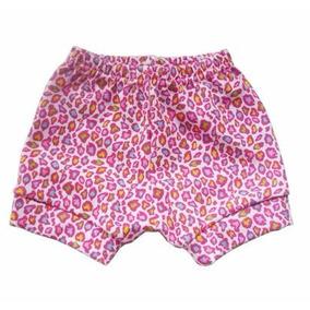 Shorts Oncinha Bebê Menina