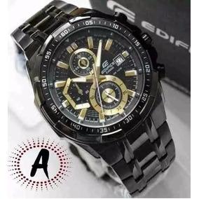 Relógio Casio Edifice Efr-539 Preto Black Original Promocao
