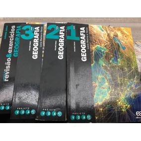 Livro Projeto Voaz Geografia Box 4livros