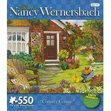 El Arte De Nancy Wernersbach Country Cottage Puzzle De 550 P