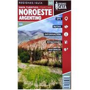 Mapa Rodoviário E Turístico Impresso Noroeste Argentino