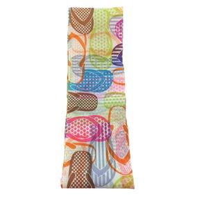 Listón Español De 90x7 Cms Diseño Sandalias Colores