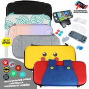 Nintendo Switch Lite Protector Estuche Kit Accesorio 16 N 1