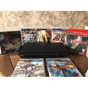 Playstation 3 Ultraslim 500gb +2 Joysticks +7 Juegos Fisicos