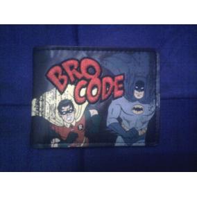 Dc Comics Cartera Original Batman Y Robin Bordada Mica