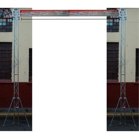 Mini Support Acero Galvanizado Estructuras 20x20 Escenarios