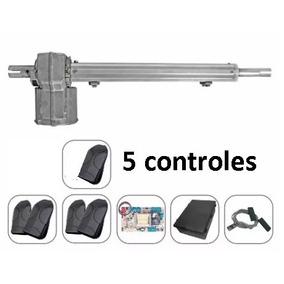 Kit Motor Portão Eletrônico Pivotante Single Piston Ppa 5tok