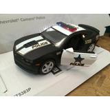 Auto Coleccionable Kinsmart Chevrolet Camaro Policía 2014