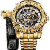Relógio Technos Masculino Carbon Troca Pulseira 6p79as/4c