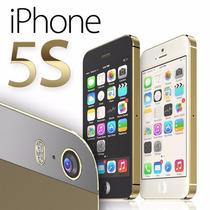 Iphone 5s 32gb Grado A Gold, Gris, Silver Huella