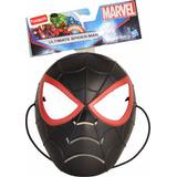 Mascara Spiderman Hombre Araña Negro Lic.original Hasbro