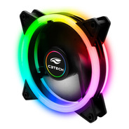 Fan 120mm Ventoinha Gamer Cooler Rgb Led Duplo Argb C3tech