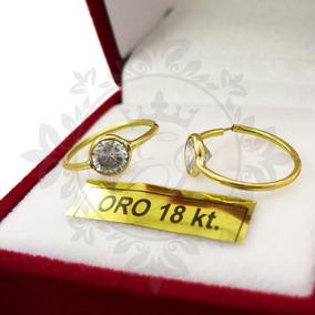 f0461b8794d1 Aros De Oro 18k Argollas Mujer - Aros en Mercado Libre Argentina