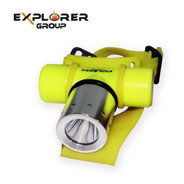 Linterna Explorer Group Hl-007 Cree Led Sumergible Buceo