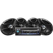 Paquete Jvc Autoestéreo Kd-ar565 Con Cs-j620 De 6.5 Y