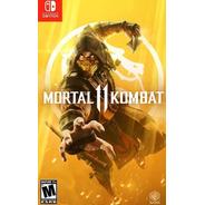 ..:: Mortal Kombat 11 ::.. Para  Switch