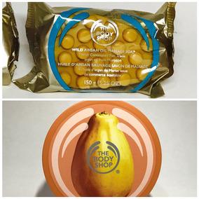 The Body Shop Butter Mantequilla De Papaya Y Jabón De Argán