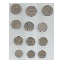 Brasil Coleção 12 Moedas 100, 200, 300 E 400 Réis 1936/37/38