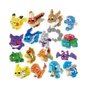 Mini Lego Do Pokemon Pikachu 26 Modelos 8bits Valor Unitario