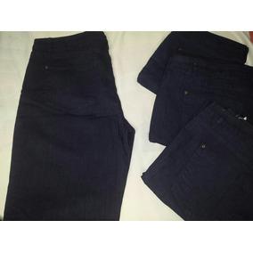 Blue Jeans Corte Alto Tallas Plus Gorditas Strech