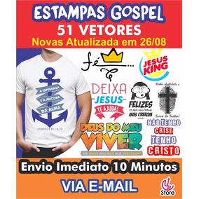 Estampas Vetores Gospel, Evangélicas, Cristã Novas 2017