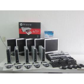 Paquete Cibercafe 4 Computadoras Core2 Dúo 4gb/80 + Servido