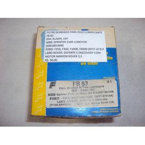 Filtro Blindado Óleo Lubrificante Fb 83 Gm Blazer, S10, Mbb