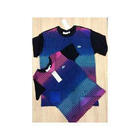 Camiseta Lacoste 3d Lancamento Moda Unissex Top Instagram 7dc3c73ec3