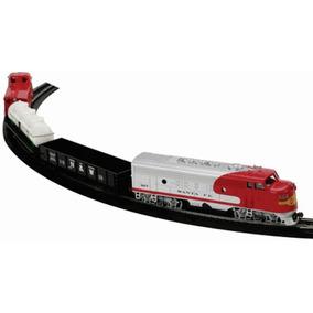 Tren Electrico Ho Santa Fe Red Rock Express Bachman Set Comp