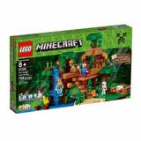 Brinquedo Lego Minecraft A Casa Da Árvore Da Selva 21125