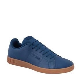 Tenis Casual Caballero Reebok Color Azul Sintetico If311 A