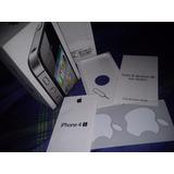 Cajas Iphone4s De 8gb, 16gb, 32gb 64gb Negras O Blancas