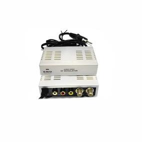 Mini Modulador Conversor De Rf P/ Audio Video - (bm602)