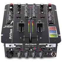 Dj Tech X10 Usb Mixer Pro Con Funciones Avanzadas Y Timecode