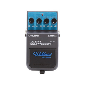 Pedal Guitarra Ultra Compressor Uc-1 Waldman Garantia + Nf