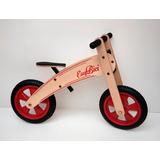 Bicicleta De Madera Sin Pedales Rodado 12 Easybici