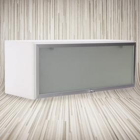 Alacena 80x31x30 ,puerta Rebatible Aluminio-cocina-baño-
