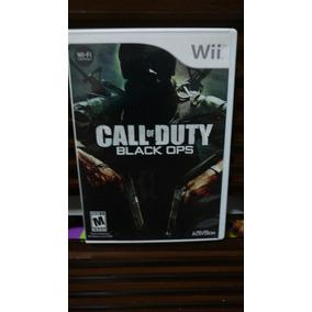 Jogo Nintendo Wii Call Of Duty Black Ops