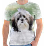 Camisa Camiseta Chitzu Cachorro Animal Frete Grátis